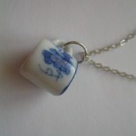 Alice Wee Cuppa Tea Necklace - chain girls birthday vintage dolls cup Wonderland