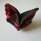 Tartan Origami Butterfly Hairclip or Brooch
