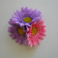 Flowers and Summer Hairclip