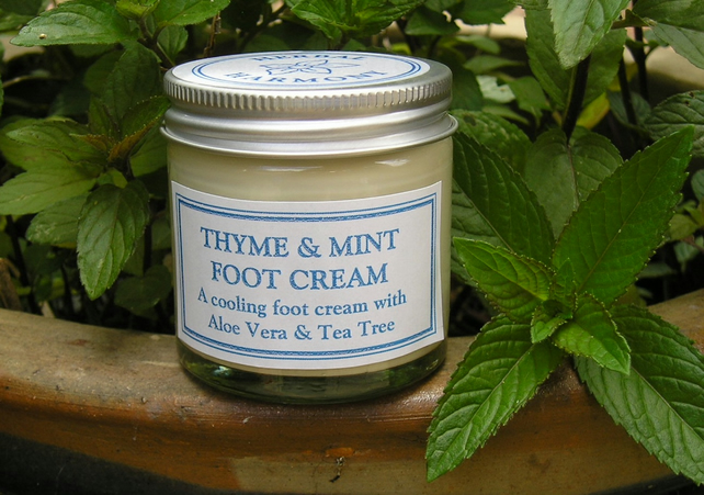 Thyme & Mint Foot Cream