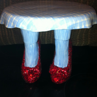 Wizard of Oz Dorothy Red Ruby Slippers Cake stand