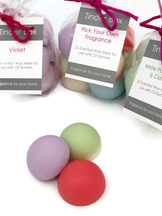 10 Large 'Pick Your Own' Fragrance Scented Soya Wax Melts
