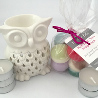 Scented Soya Wax Melts Starter Kit (Owl)