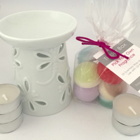 Scented Soya Wax Melts Starter Kit (Dragonfly)