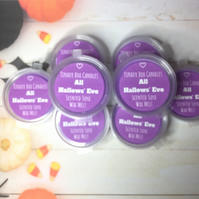 HALLOWEEN - 8 All Hallow's Eve Scented Soya Wax Melts