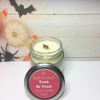 HALLOWEEN - Trick Or Treat Scented Soya Wax Candle (75g)