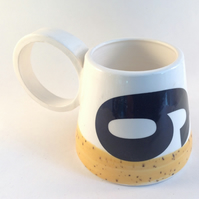 """9 or 6"" Mug. Handmade mug, Ceramic cup, Mug, Tea, Coffee"