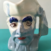 Large Toby jug. Cup. Handmade. Coffee. Vase. Quirky.
