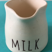 Ceramic jug. Milk Jug. Pourer. Custard jug. Cream jug. Gravy. Sauce.