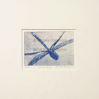 Etching - Dragonfly