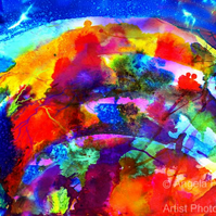 Fine Art Ink Abstract - Creation