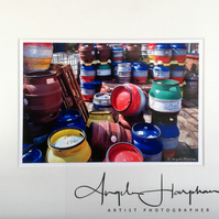 Small Photograph Kelham Island Casks Sheffield