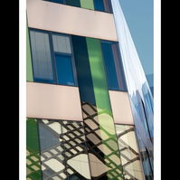 Photograph Jessop with Diamond Reflection Architecture Sheffield