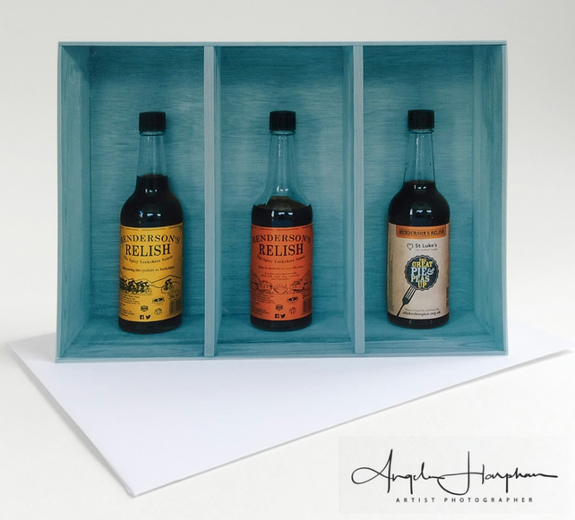 Triple Hendos Blank Art Card