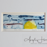 Original Etching Moon River
