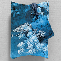 Pillow style Gift Bag with Tag - Handmade Original Design