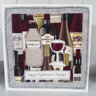 Retirement card - personalised