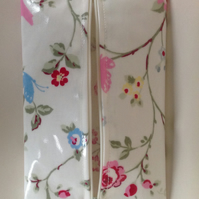 Baby wipes wet wipes holder case handmade bird trail oilcloth