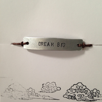 Dream big friendship bracelet