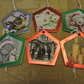 Six Assorted Christmas Gift Tags