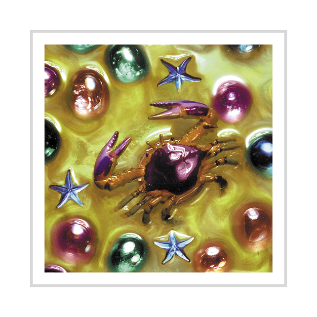 Colourful Crab greeting card