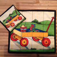 Childrens Place Mat and Coaster