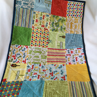 Patchwork Buggy Blanket
