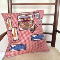 Cushion Cover - Children's Noah's Ark