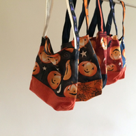Cute pumpkin Trick or Treat bags