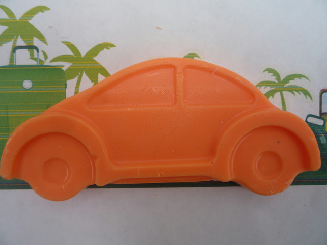 racing car novelty soap x 1