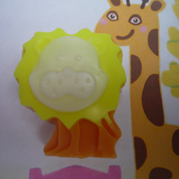 jungle lion novelty soaps x 3