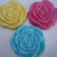 mothers day valentines flower soap x 1