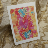 'Heart to Heart' Card
