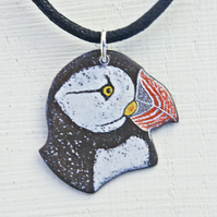 Puffin Head Pendant