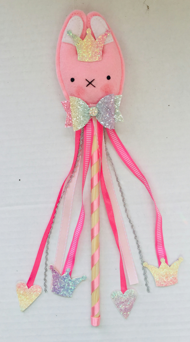 Fairy Wand, Easter Bunny Wand, Party Wand