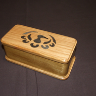 Pen Box in Oak