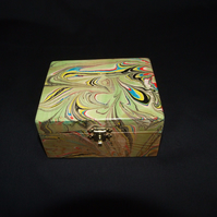 Multi-coloured Trinket Box