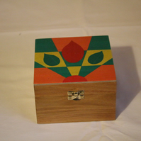 Box with Art Deco Lid