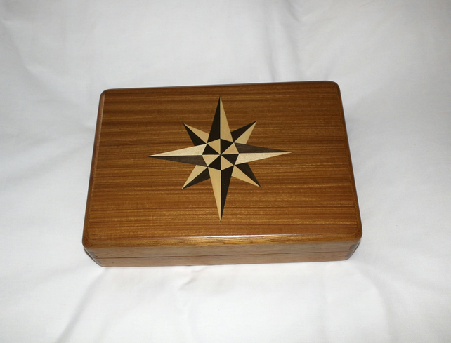 Jewellery Box with Compass Design
