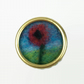 Needle felted poppy lapel pin, brooch or badge