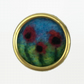 Lapel pin, needle felted poppies, brooch or badge