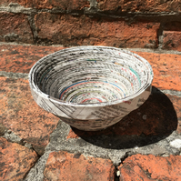 Recycled Newpaper Bowl