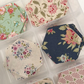 Beautiful Tilda Cotton Hexagons 52 Pieces Assorted Vintage Quilting Craft