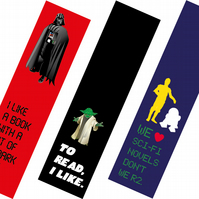 Star Wars bookmarks (set of 3)