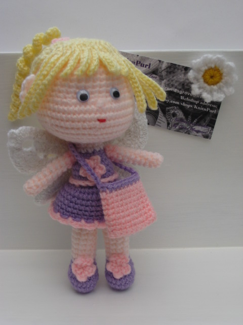 Free Tooth Fairy Crochet Pattern - Hooked On Patterns | 640x480
