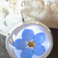 Forget me nots - Botanical Jewellery - Real Flower Necklace