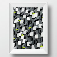 Sheffield Architectural A3 Poster Print - The Cheese Grater
