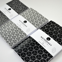 Scandi Notebook Set of 3 FREE SHIPPING UK
