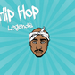 Legends of Hip Hop - Enamel Pin Tupac