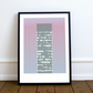 The Arts Tower, Sheffield, Modernist, Mid Century, A3 Print